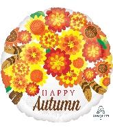 """18"""" Autumn Mums Balloon"""