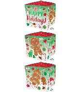 """15"""" Ultrashape Cubez Happy Holiday Cookies"""
