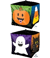 "15"" Ultrashape Cubez Halloween Emoticons Balloon"