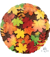 """18"""" Colorful Leaves Balloon"""