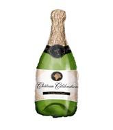 """36"""" Jumbo Foil Champagne Bottle Balloon"""