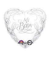 "18"" Mi Boda Mylar Balloon"