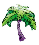"""33"""" Jumbo Mylar Palm Tree Balloon"""