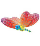 "40"" Rainbow Dragonfly Large Balloon"