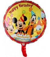 "18"" Mickey & Friends Happy Birthday"