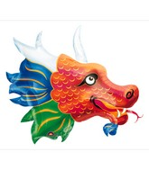 "33"" Large Chinatown Dragon Balloon"
