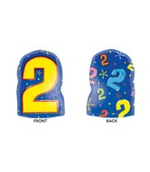 """18"""" Junior Shape 2 Multi-Color Balloon Packaged"""