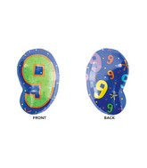 """21"""" Junior Shape 9 Multi-Color Balloon"""