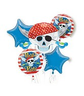 Bouquet Pirate Party Balloon Packaged