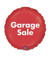 "18"" P.O.P. Garage Sale Balloon"