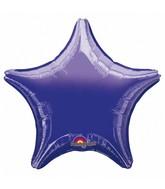 """32"""" Large Balloon Purple Star"""