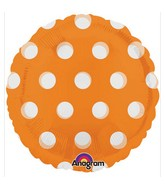 "18"" Magicolor Dots Orange"