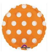 """18"""" Magicolor Dots Orange"""