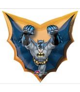 "28"" Batman Cape Shape Super Hero"