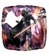 "18"" Star Wars Darth Vader Square Balloon"