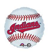 "18"" MLB Cleveland Indians Baseball Balloon"