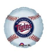 "18"" MLB Minnesota Twins Baseball Balloon"