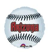 "18"" MLB Arizona Diamondbacks Baseball Balloon"