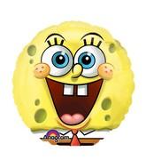 "9"" Mini Balloon (Airfill Only) SpongeBob"
