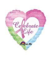 """18"""" Celebrate Life Balloon"""