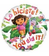 "18"" Dora the Explorer You Did It!"