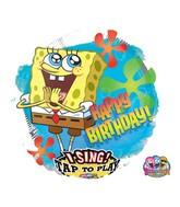 "28"" Sing-A-Tune Sponge Bob Birthday"
