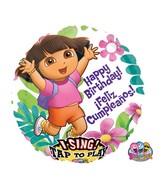 "28"" Sing-A-Tune Dora Happy Birthday"