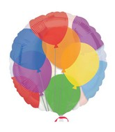 """18"""" Colorful Balloons"""