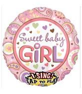 "28"" Sweet Baby Girl Jumbo Sing-A-Tune"