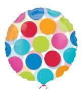 "18"" Cabana Dots Balloon"
