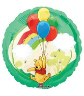 "18"" Winnie The Pooh Bunch Of Balloons"