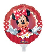 "9"" Airfill Only Mad About Minnie Balloon"