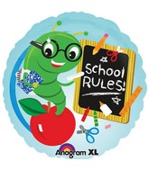 """18"""" School Rules Balloon"""