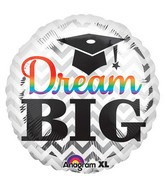 "32"" Dream Big Grad Balloon"