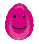 """18"""" Smiley Egg Balloon"""