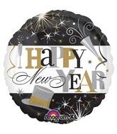 "18"" Elegant Celebration New Year Balloon Packaged"