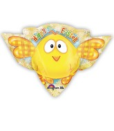 Large Shape Easter ChickBalloon
