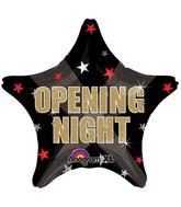 """18"""" Opening Night Stars Balloon"""