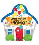 "18"" Welcome Home House Balloon"