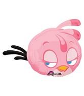"""27"""" Angry Birds Pink Jumbo Balloon"""