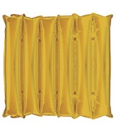 "21"" Decorator Panel GOLD Half Decorator Panel Balloon"