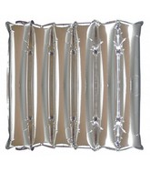 "21"" Decorator Panel SILVER Half Decorator Panel Balloon"