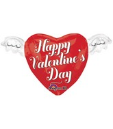 "18"" Junior Shape Happy Valentines Day Heart"