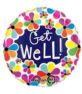 """28"""" Get Well Petals  Jumbo Balloon"""