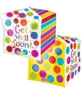 "15"" x15"" Get Well Soon Cube  Cubez"