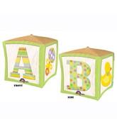 "15"" x 15"" Cubez Baby Block"