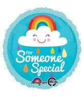 "18"" Someone Special Rainbow Cloud Balloon"
