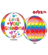"16"" Orbz Grandma Balloon Packaged"