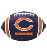 Junior Shape Chicago Bears Team Colors Balloon