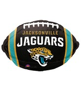 Junior Shape Jacksonville Jaguars Team Colors Balloon